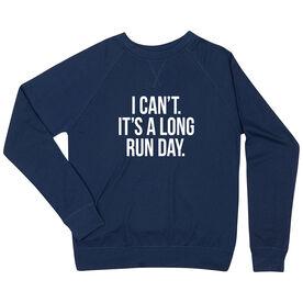Running Raglan Crew Neck Sweatshirt - Long Run Day