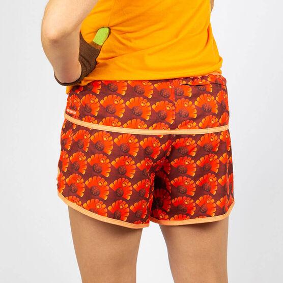 Women's Running Shorts - Run Now Gobble Later