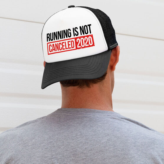 Running Trucker Hat - Running is Not Canceled 2020 ($5 Donated to the American Red Cross)