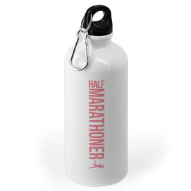 Running 20 oz. Stainless Steel Water Bottle - Half Marathoner Girl