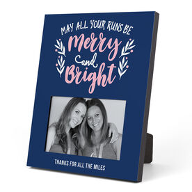 Running Photo Frame - May All Your Runs Be Merry And Bright