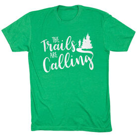 Running Short Sleeve T-Shirt - The Trails Are Calling