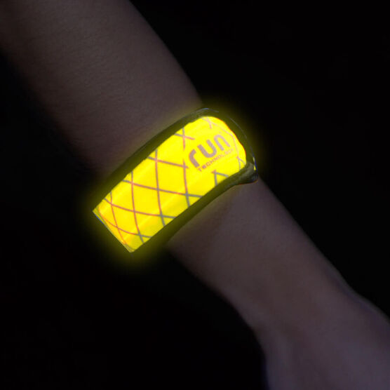 LightGUIDE LED Slapn'Go Safety Light Band by RunTechnology