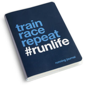 GoneForaRun Running Journal - Train Race Repeat
