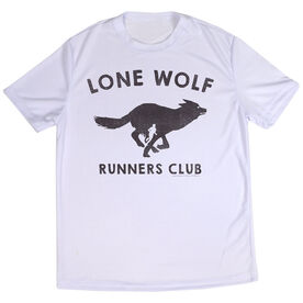 Men's Running Short Sleeve Tech Tee Run Club Lone Wolf
