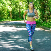 Running Performance Capris - Never Run Alone