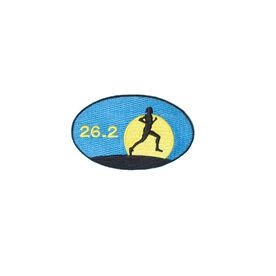 Marathon 26.2 Iron-on Patch - Sunset