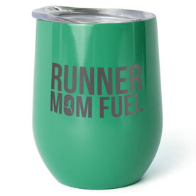 Running Stainless Steel Wine Tumbler - Runner Mom Fuel