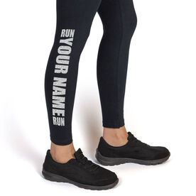 Running Leggings Run Your Name Run
