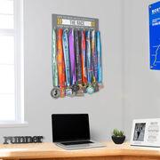 Running Hooked on Medals Hanger - Let Us Run