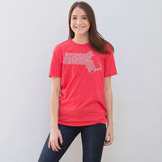 Running Short Sleeve T-Shirt - Massachusetts State Runner