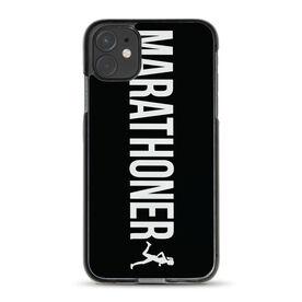 Running iPhone® Case - Marathoner Girl