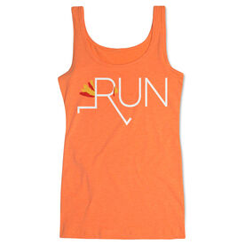 Running Women's Athletic Tank Top - Let's Run For Turkey