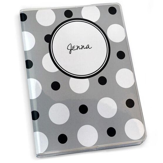 GoneForaRun Running Journal - Personalized Polka Dots