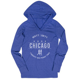 Women's Running Lightweight Performance Hoodie - Chicago 26.2 (MRTT/SRTT)
