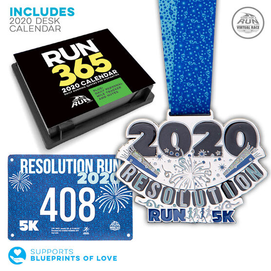 Virtual Race - Resolution Run 5K (2020)