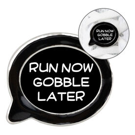 Running Shoelace Charm - Run Now Gobble Later