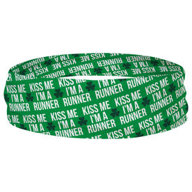 Running Multifunctional Headwear - Kiss Me Shamrock Runner RokBAND