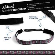 Running Juliband Non-Slip Headband - I Run To Burn Off the Crazy