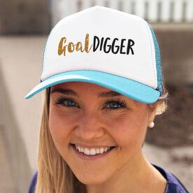 Running Trucker Hat - Goal Digger