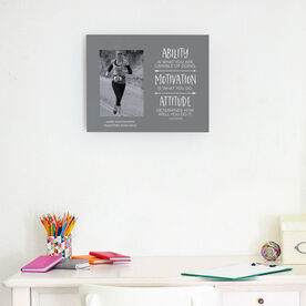 Running Photo Frame - Ability Motivation & Attitude