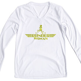 Women's Long Sleeve Tech Tee - Runder Woman