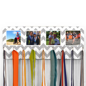 Running Hooked On Medals Hanger Your Four Photos with Pattern