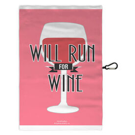 Running Workout/Golf Towel Will Run For Wine