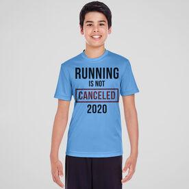 Running Short Sleeve Performance Tee - Running is Not Canceled 2020