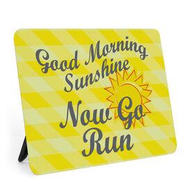 Running Desk Art - Good Morning Sunshine