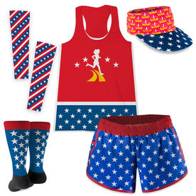 Super Runner with Stars Running Outfit