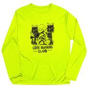 Men's Running Long Sleeve Performance Tee - Lone Runners Club