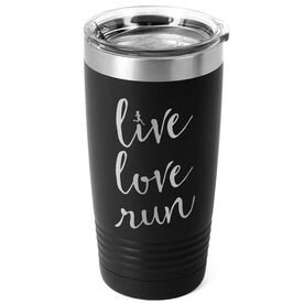 Running 20 oz. Double Insulated Tumbler - Live Love Run