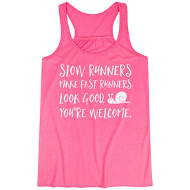 Flowy Racerback Tank Top - Slow Runners