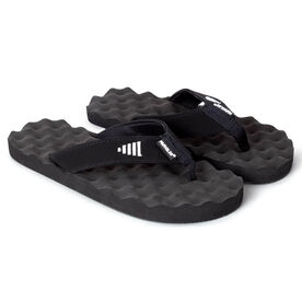 PR SOLES® Recovery Flip Flops V1 - Black