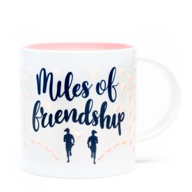 Soleil Home™ Running Porcelain Mug - Miles of Friendship