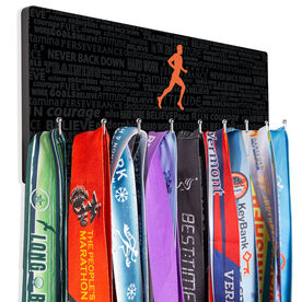 Running Hooked on Medals Hanger - Inspiration Male