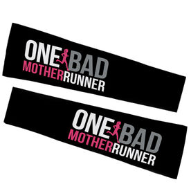 Running Printed Arm Sleeves - One Bad Mother Runner