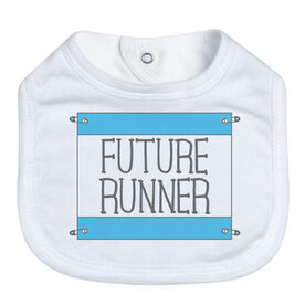 Running Baby Bib - Future Runner