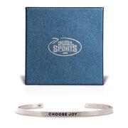 InspireME Cuff Bracelet - Choose Joy