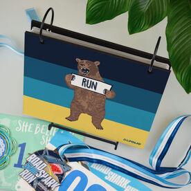 BibFOLIO® Race Bib Album - Trail Bear