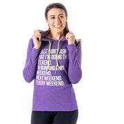 Women's Running Lightweight Hoodie - All Weekend Running