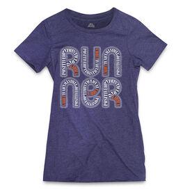 Women's Everyday Runners Tee Libra Zodiac Runner