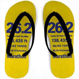 Running Flip Flops 26.2 Math Miles