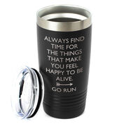 Running 20oz. Double Insulated Tumbler - Always Find Time