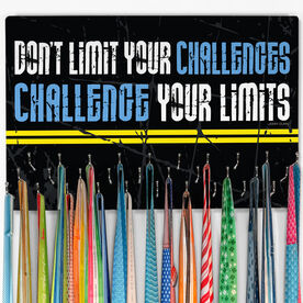 Running Large Hooked on Medals Hanger - Don't Limit Your Challenges