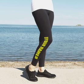 Running Leggings Run Your Name Run
