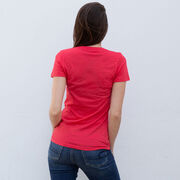 Women's Everyday Runners Tee - Kiss A Lucky Runner