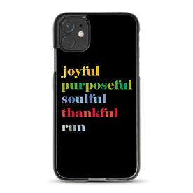 Running iPhone® Case - Run Mantra (Run)