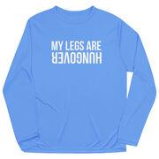 Men's Running Long Sleeve Tech Tee - Legs Hungover